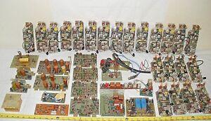 LOT Two-Way Radio Vintage CONTROL BOARDS RESISTORS CAPACITORS POTS