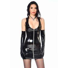 Patrice Catanzaro, Roxy, -40% sur Robe fetish zippée courte sexy vinyle noir