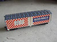 Vintage HO Scale Tyco Ralston Purina Co MRS 4554 Box Car