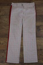 "DIESEL Ladies Beige Checked TROUSERS Diesel Size 30 - Waist 30"" - Leg 33"""