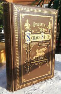 Schach  Handbuch des Schachspiels von P. R. Bilguer (V. D. Lasa)  Leipzig 1891