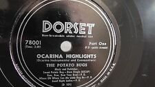 The Potato Bugs - 78rpm single 10-inch – Dorset #78001 Ocarina Highlights
