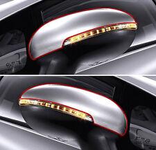 Genuine LED type Side Mirror Cover UD White LH RH For 2012 2016 Kia Rio : Pride