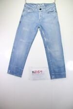 G-Star Corvet Kate Tapered wmn (Cod. B259) Tg39 W25 jeans usato vintage donna