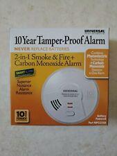 2-in-1 Photoelectric Smoke & Carbon Monoxide Smart Alarm - MPC322SB