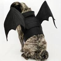 Bat Wings Vampire Black Cute Fancy Dress Up Halloween Pet Dog Cat Costume New