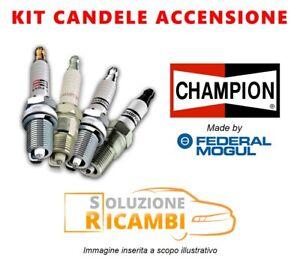 Kit 6 Candele Champion BMW 3 Cabrio '00-'00 320 Ci 125 KW 170 CV