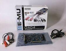 NICE!! Creative Professional E-MU PCI Sound Card E-MU 0404  ASIO 2  Model# 8850