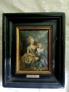 E Vigee-Lebrun - Children Sitted - Painting, Picture - Polysmalt - Spain Modern