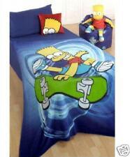 Manta Polar Bart Simpson The Simpsons Habitacion Niños Producto Oficial