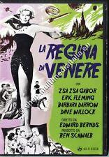 LA REGINA DI VENERE (1958 Edward Bernds) Zsa Zsa Gabor - DVD NUOVO!