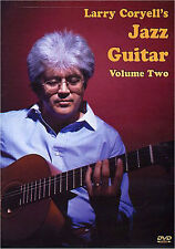 Larry Coryell's Jazz Guitar Volume 2 Learn to Play Blues Lesson Tutor Music DVD