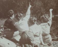 VINTAGE EDWARDIAN BEAUTIES RIBBON CANDY HAIR KARDASHIAN FIGURE BOOTY OLD PHOTO