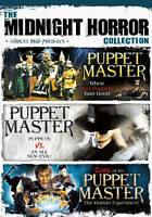 Midnight Horror Collection: Puppet Master DVD Brand New Sealed