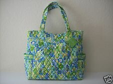 Vera Bradley Pleated Tote - English Meadow - New With Tags!