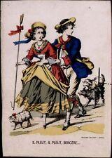 Estampes, gravures et lithographies du XIXe siècle et avant baroques en scène de genre