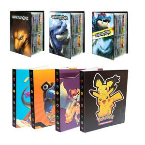 Pokemon Cards Album Book List Collectors Folder Pocket Capacity Holder 240Pcs AU