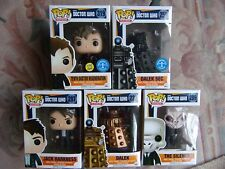 Doctor Who Funko Pop! BBC Vinyl Figure 4th 10th 1st 9th Doctor Dalek Jack
