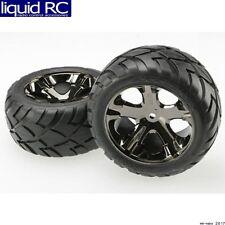 Traxxas 3773A Traxxas Anaconda Rear Tires/All-Star Wheels Mounted Glued (2)