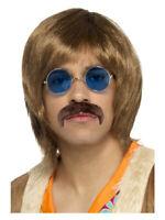 60's Hippie Hippy Kit Brown Adult Men's Fancy Dress Costume Accessory