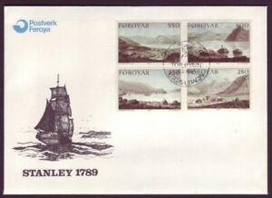 Faroe Islands • 1985 • Dayes' Landscape Paintings FDC