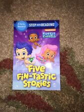 Bubble Guppies Five Fin-tastic Stories Step Into Reading