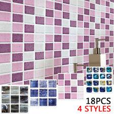Cuisine Tuile Stickers Salle Mosaïque Autocollant Adhésif Décoration Murale