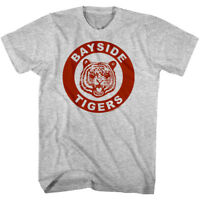 Saved by the Bell Bayside Tigers Emblem Men's T Shirt High School Wrestling Team