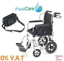 Drive Medical Transit Wheelchair Pannier Bag With Shoulder Strap Carry Aid