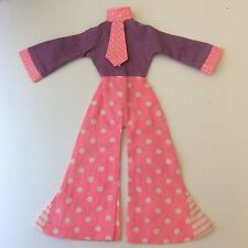 Sindy 1973 Lovely Lively Fun Flares S605 Jumpsuit   - vintage doll clothes