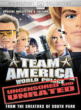 Team America (DVD, 2005, Widescreen Collection/Unrated/Checkpoint)