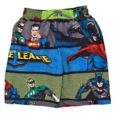 JUSTICE LEAGUE BATMAN UPF-50+ Bathing Suit Swim Trunks NWT Boys Sz. 5/6 or 7