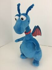 "Disney Store Doc McStuffins ""Stuffy"" Blue Dragon Stuffed Plush Toy 15""H Talks"