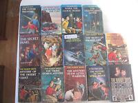 THE HARDY BOYS LOT 14 HARDCOVERS Handbook Matte Franklin W. Dixon Grosset Dunlap
