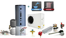 Inverter Luft / Wasser Wärmepumpe NV25D 220V 50Hz 9,3 kW - Komplettset