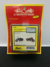 JL Innovative Design Classic 1947 Motorcycles (2) new in original packaging