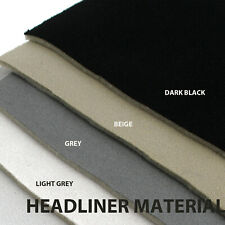 Replace Universal Car Headlining Roof Liner Headliner Fabric Material Upholstery
