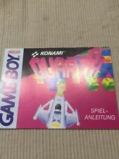 Booklet (Anleitung) Game Boy Quarth