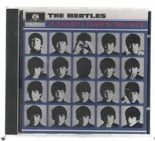 THE BEATLES A HARD DAY'S NIGHT CD F. C. TIMBRO A SECCO CDP 7 46437 2