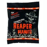 Carolina Reaper Chilli Peanuts - Hot as Hell Seasoned Peanuts