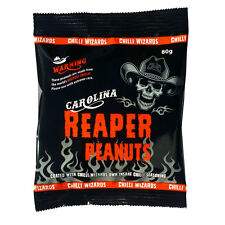 Carolina Reaper Chilli Peanuts - Hot as Hell Seasoned Peanuts - Buy 4 Pay for 3