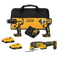 DeWalt DCK379D2 20V MAX Brushless 3-tool Kit