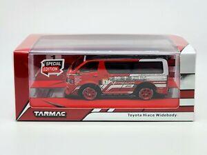 1:64 Tarmac Works Toyota Hiace Widebody Hong Kong Toycar Salon Limited 2,544 pcs