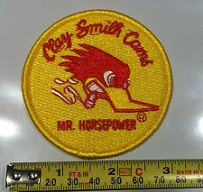 """CLAY SMITH CAMS """"MR.HORSEPOWER"""" OFFICAIL 3"""" PATCH STREET RAT ROD HOT ROD"""