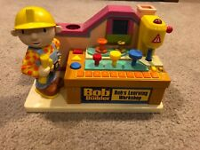 Bob The Builder Learning Workshop  Playset with Sounds and Accessories Complete