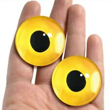 38mm Glass Eyes Realistic Animal Taxidermy Craft Eyeballs