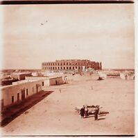 Algeria Maghreb I Anfiteatro Romana Foto Placca Da Lente Stereo Vintage LC