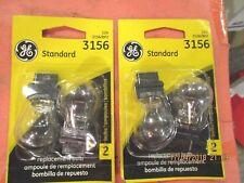 3156--GE--LOT-OF--4-- Back Up Light Bulb 3156/BP2