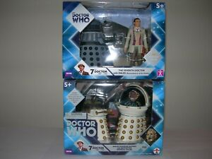 Doctor Who Classic Figures - Remembrance of the Daleks sets (4 figures in total)