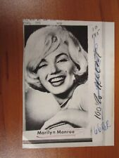 Vintage AP Wire Press Photo Actress Marilyn Monroe, Some Like it Hot, Misfits #6